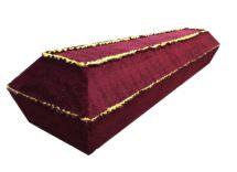 Гроб «Бархат волна» 4-гранник
