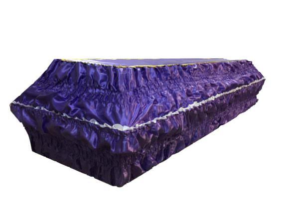 Гроб «Жатка атлас» 4-гранник