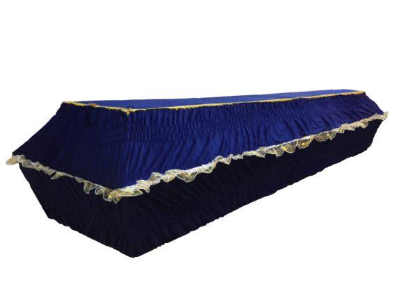Гроб «Жатка бархат» 4-гранник