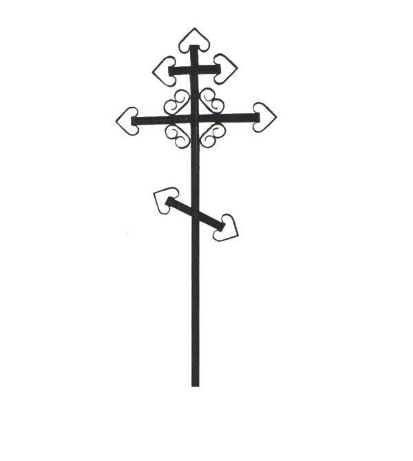 Крест металлический с арматурой