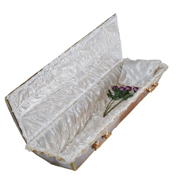 Атласная постель в гроб арт. «П-6-3»