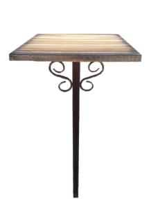 "Стол деревянный на металлическом каркасе арт. ""СД01"""