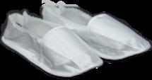 Тапочки атласные , задник на резинке
